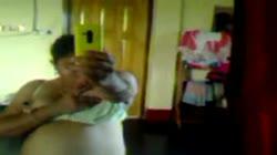 Bangladeshi Aunty Selfie P1