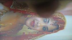 Gman Cum on Face of a Sexy Bangladeshi in Sari (tribute)