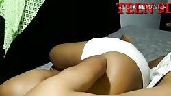 Sri lankan romantic sex දෙන්නටම බඩු යනව මාමා  නැති වේලාව නංගී ට දිව දිවදාල