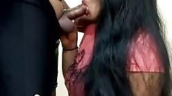 Indian Girl Mindblowing Closeup Blowjob